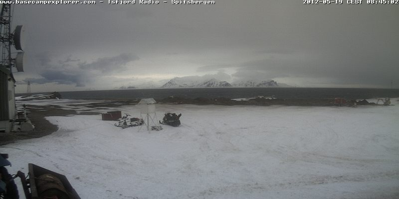 Webcam Spitzbergen